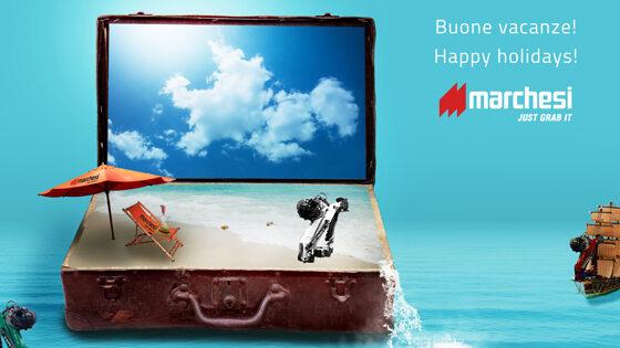 Buone vacanze -Happy Holidays Marchesi
